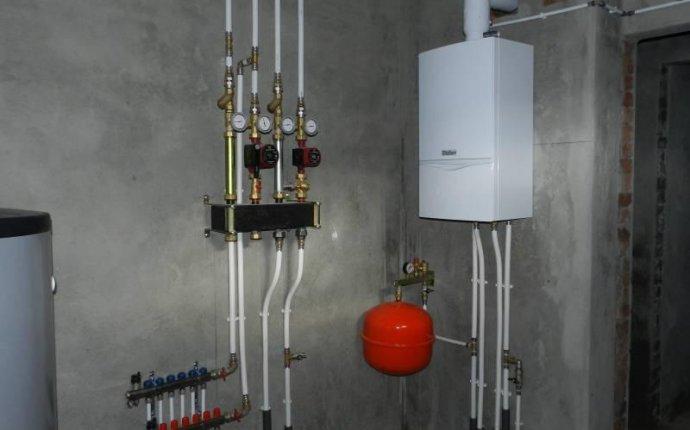 Монтаж отопления в частном доме. Чебоксары
