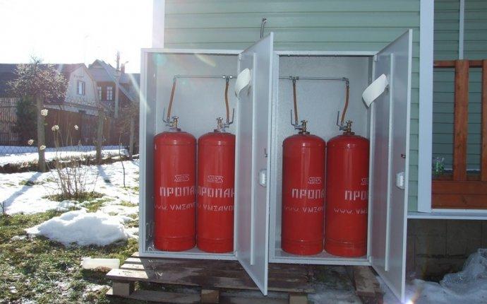 Монтаж системы отопления в частном доме газовыми баллонами