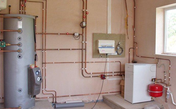 Отопление частного дома настенным газовым котлом схема