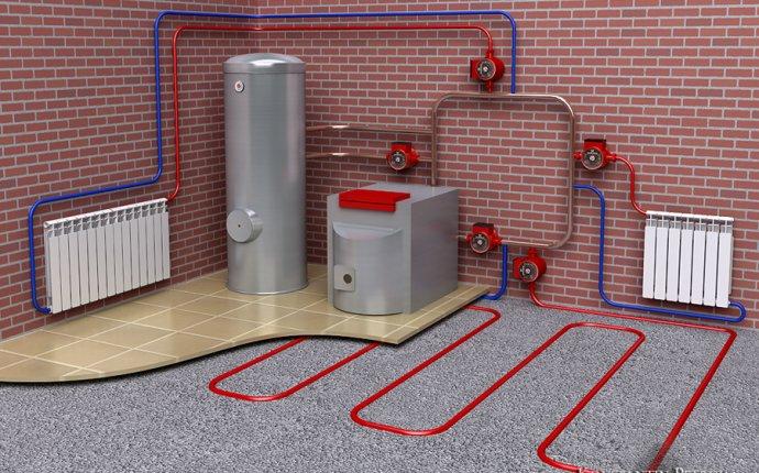 Схема системы отопления — Работа №8 — Портфолио фрилансера
