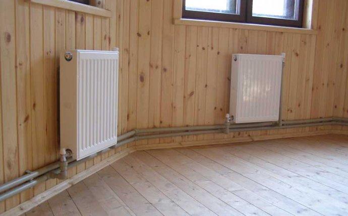 Водяное отопление деревянного дома: особенности и достоинства