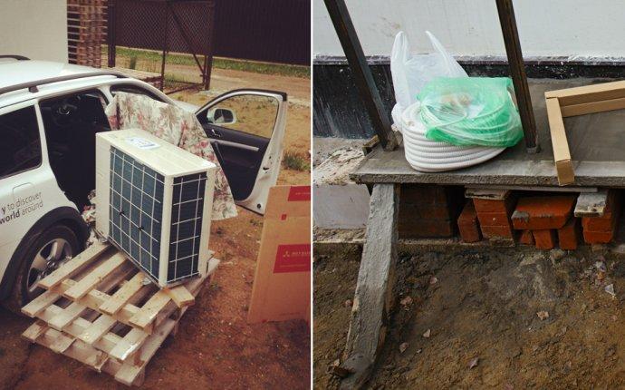 Загородное строительство: Установка теплового насоса (часть 1